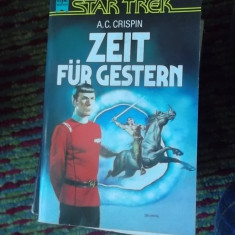 CARTE IN GERMANA-STAR TREK -ZEIT FUR GESTERN