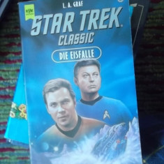 CARTE IN GERMANA- STAR TREK -CLASSIC -DIE EISFALLE