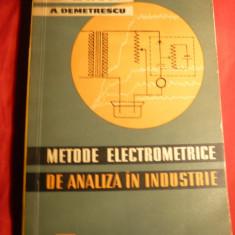 M.Malin -Metode Electrometrice de Analiza in Industrie -Ed.1963 - Carti Metalurgie