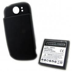 Baterie extinsa Htc My Touch 4G Slide 3500mAh acumulator + folie protectie ecran + expediere gratuita