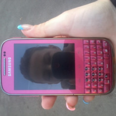 VAND/SCHIMB SAMSUNG GALAXY CHAT B5330 ROZ - Telefon Samsung, 4GB, Neblocat, Single core, 3 GB