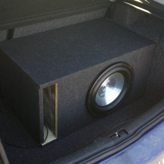 Subwoofer Ground Zero GZHW 30X 800w - Subwoofer auto Ground Zero, peste 200W
