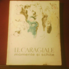 I. L. Caragiale Momente si Schite, editie ilustrata de Baciu Constantin - Carte de lux