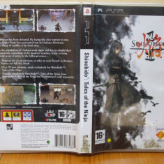 Shinobido Tales of the Ninja ( PSP) (ALVio) + sute de alte Jocuri PSP Sony originale ( VAND / SCHIMB ), Actiune, 16+