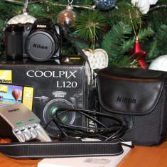 VAND NIKON COOLPIX L120 - Aparat Foto compact Nikon, Compact, 14 Mpx, Peste 20x, 3.0 inch
