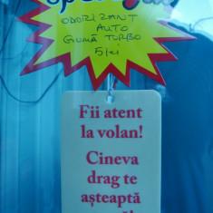FII ATENT LA VOLAN CINEVA DRAG TE ASTEAPTA ACASA, ODORIZANT AUTO-GUMA TURBO