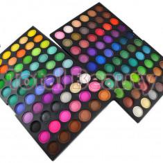 Trusa machiaj profesionala 120 culori Rainbow Fraulein Germania trusa farduri - Trusa make up