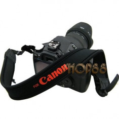 Suport gat flexibil inscriptionat Camera Grip Neck Strap Canon DSLR