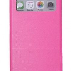 Toc flip S view Iphone 5C + folie protectie ecran + expediere gratuita