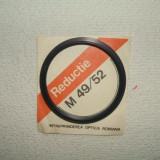 Inel de reductie M52/49 - Inel adaptor obiectiv foto