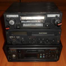 Radio casetofon Auto Romanesc - STELA ACORD, vechi. Radiocasetofon de masina, de colectie, vintage.OPEL M101, PHILIPS 575. - CD Player MP3 auto