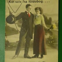 Stampila 1915 Temesvar Bizottsag - vedere 3067 indragostiti - circulata
