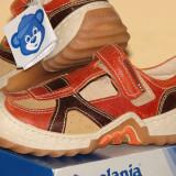 Pantofi copii Melania, primavara-vara, din piele naturala.