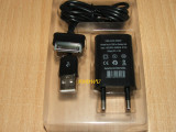 Incarcator + cablu USB Samsung Galaxy Tab 2 P5110, P6200 P7510 P7100, Incarcator retea