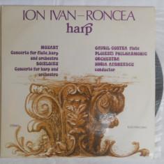 {DISC VINYL} ION IVAN RONCEA - HARPA (vinil, ELECTRECORD) - Muzica Clasica