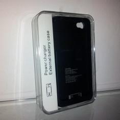 Husa cu baterie externa, pentru IPHONE 4 ! Incarcator PORTABIL !!