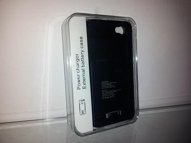 Husa cu baterie externa , pentru IPHONE 4 ! Incarcator PORTABIL !! foto mare