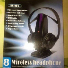 CASTI WIRELESS !! 8 IN 1 !!Cel mai mic PRET!!, Casti On Ear