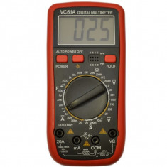 VC61A Aparat de Masura Digital Electronic | TEMPERATURA | MULTIMETRU | | NOU - Multimetre