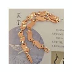 BRATARA DAMA AUR FILAT 9 K (K) - Bratara placate cu aur, Femei
