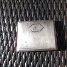 Tabachera veche de argint