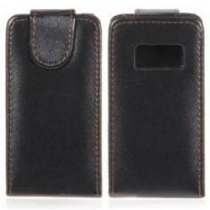 Toc din piele Nokia C6-01 husa deosebita si calitativa + folie protectie ecran