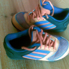 Adidasi firma Adidas marimea 29, purtati o singura data! - Adidasi copii, Culoare: Orange, Unisex