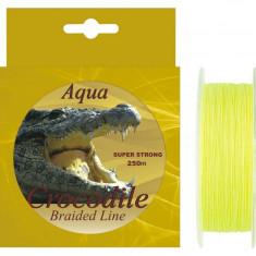 Fir textil Aqua Crocodile 250m pentru pescuit la somn si crap - Fir Pescuit