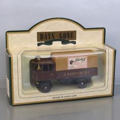 Camion Sentinel Steam Wagon 1931 J.Sainsbury, Lledo - Macheta auto