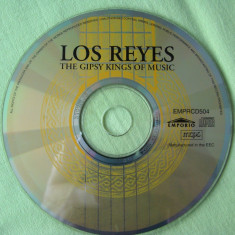 LOS REYES - The Gipsy Kings Of Music - C D Original - Muzica Pop sony music