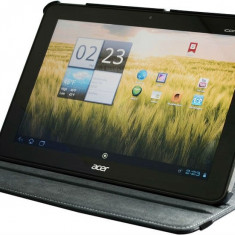 Husa rotativa 360 Acer Iconia Tab A200 + cablu OTG + stylus - Husa Tableta Acer, 10.1 inch
