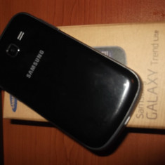 Samsung Galaxy Trend lite - Telefon mobil Samsung Galaxy Trend Lite, Argintiu, Neblocat