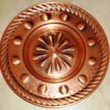 Farfurie - decorativa / de colectie - cupru - Germania - Metal/Fonta
