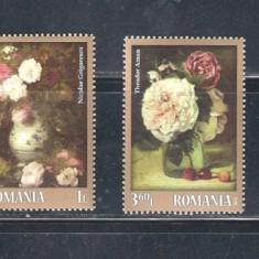 ROMANIA 2013 - TRANDAFIRI IN PICTURA - LP 2007 - Timbre Romania