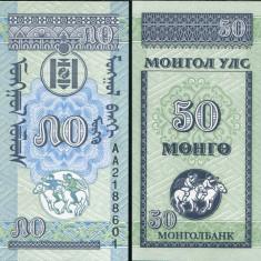 MONGOLIA- 50 MONGO 1993- UNC!!