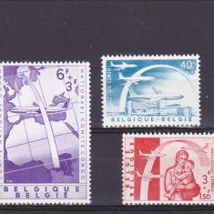 Transporturi, aviatie, Belgia, Congo. - Timbre straine, Europa