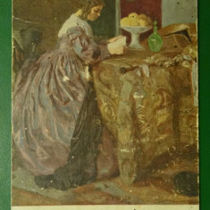Vedere dupa pictura - Otto Herschel: Fata citind - vedere GGWd nr 316