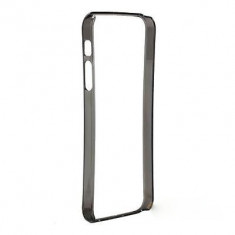 Bumper Frame iPhone 5 5S Ultra Slim 0.2mm Black - Bumper Telefon, Transparent