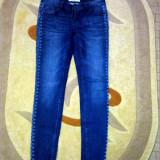 Blugi Jeans New Yorker - Blugi dama, Marime: 28, Culoare: Albastru, Skinny, Lungi