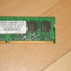 Memorie laptop DDR2-667/512 MB - Memorie RAM laptop Asus