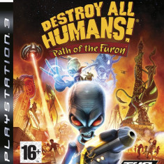 JOC PS3 DESTROY ALL HUMANS! PATH of the FURON ORIGINAL / STOC REAL / by DARK WADDER - Jocuri PS3 Thq, Actiune, 16+, Multiplayer