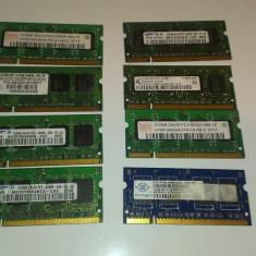 Memorie laptop SODIMM 512MB DDR2 667MHz - Memorie RAM laptop Nanya