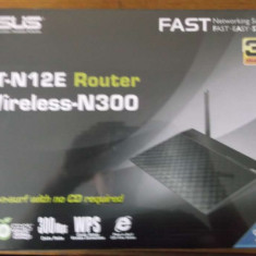 Router Asus RT- N12E (RT- N12LX) Wireless- N300 - Router wireless Asus, Port USB, Porturi LAN: 4, Porturi WAN: 4