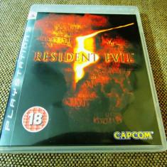 Joc Resident Evil 5, PS3, original, alte sute de jocuri! - Jocuri PS3 Capcom, Actiune, 18+, Single player