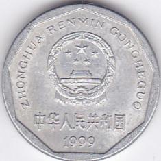 Moneda China ( Republica Populara ) 1 Jiao 1999 - KM#335 XF, Asia
