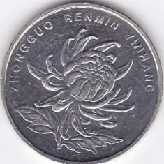 Moneda China ( Republica Populara ) 1 Yuan 2004 - KM#1212 XF, Asia