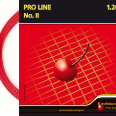 Racordaj Kirschbaum Proline II rosu 12 m, 1.25 mm - Racordaj racheta tenis