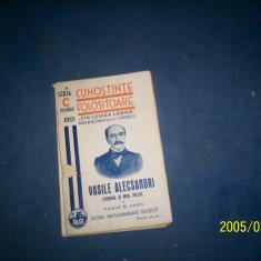 VASILE ALECSANDRI - VASILE M SASSU