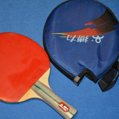 Paleta tenis de masa cu husa - Paleta ping pong