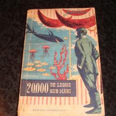 Jules Verne - 20.000 de leghe sub mari  - 1959 - colectia Cutezatorii ( cu romb )